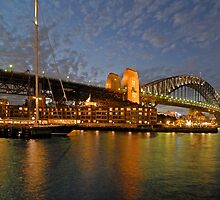 Sydney Harbour Bridge @ Dusk by DavidIori