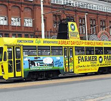 Tram to Cleveleys.  by JacquiK