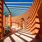 Game of shadows in architectural form by Valerii Baryspolets
