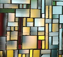 Multicoloured square 1 by Etienne RUGGERI Artwork eRAW