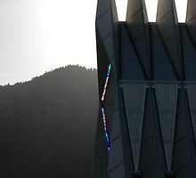 air force academy chapel stained glass by kmcphersonphoto