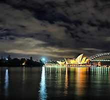 Lady Macquarie's Chair Panorama by andreisky