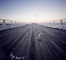 pier by Sue Hammond
