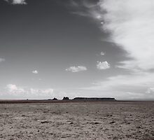 High Mesa and Shiprock by doorfrontphotos