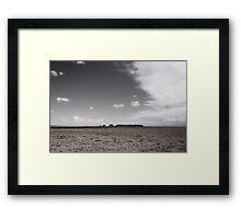 High Mesa and Shiprock Framed Print