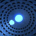The Famous Dome of Rome Pantheon  by HELUA