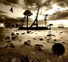 Eiffel Nightmare by Philippe Sainte-Laudy