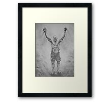 Randy Couture Framed Print