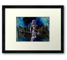 City Warriors Framed Print