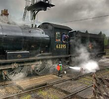 No.63395 On The Road Crossing by Trevor Kersley