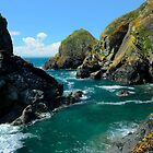 Mullion Cove Seascape by rodsfotos