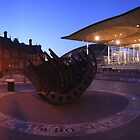 The Senedd, Cardiff Bay by Michael Field