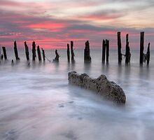 Twighlight At Spurn Point by SteveMG