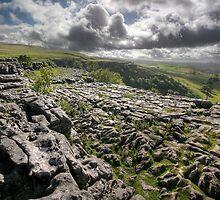 Malham Limestone by SteveMG
