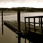 By the dock by Lindsaycope