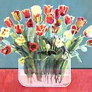 Tulip Tablescape by trash