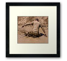 Splash Down - Survival Training Framed Print