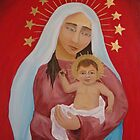 Mary Mother of God III by Gian
