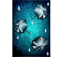 umbrella day Photographic Print