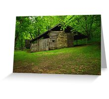 Beaver Jim Villines Boyhood Home Greeting Card