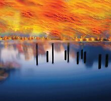 Australia on Fire by Martin Dingli