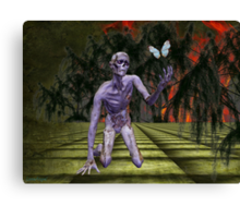 A Zombies Hope Canvas Print