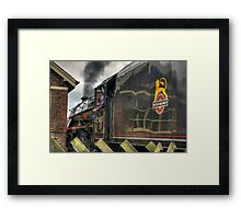 Passing the Signal Box Framed Print
