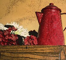 The Red Coffee Pot by CarolM