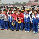 School Trip in Tiananmen Square by oluadams