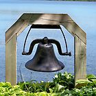 Bell at the Waters Edge by Nora Caswell