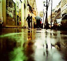 Rain in Boulogne by louba