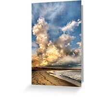 Sky Giants Greeting Card
