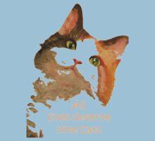 All Lives Deserve Nine Cats Kids Clothes