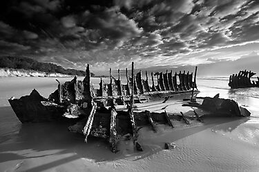 Wrecked wreck by Garry Schlatter