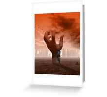 Android Revolution Greeting Card
