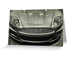 Aston-Martin 3 Greeting Card