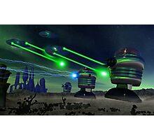 Alien Attack 1 Photographic Print