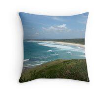 (3)-Main Beach Throw Pillow