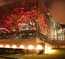 Federation Square by Simmone