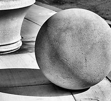 Ball and Planter by Bob Wall