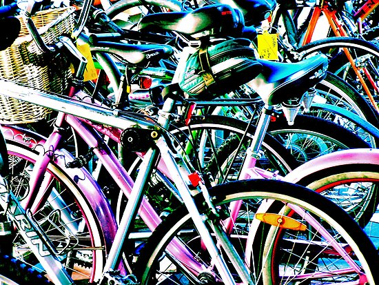 Contrasty Bikes by Bob Wall