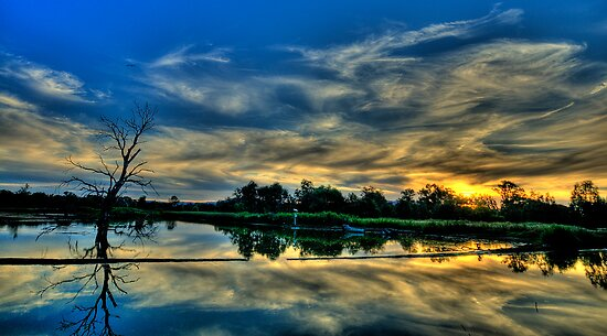 Blessed - Wonga Wetlands, Albury NSW - The HDR Experience by Philip Johnson