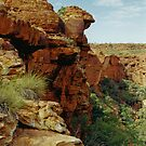 Kings Canyon, Watarrka National  Park by Christopher Biggs