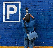 P is for Photographer by Rob Beckett