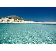 Summer in Greece Photographic Print