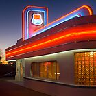 USA. New Mexico. Albuquerque. Route 66 Diner. (Alan Copson ) by Alan Copson