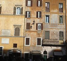 ROME - Windows & Doors at TRASTEVERE by Daniela Cifarelli