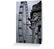 Stormtroopers in London Greeting Card