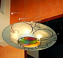 Chandelier At The Rep by Bob Wall