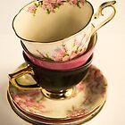 Tea-Cups by Kristi Robertson